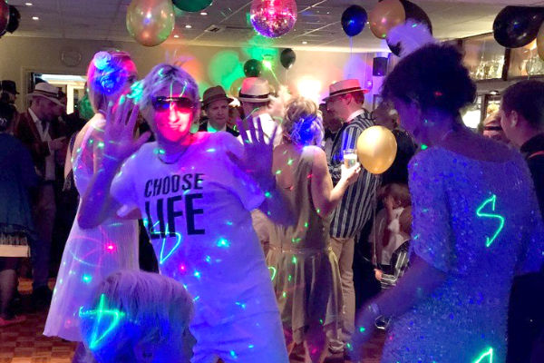 Professional mobile disco hire in Esher
