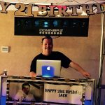 DJ John getting ready for Special Needs 21st Birthday for Jack
